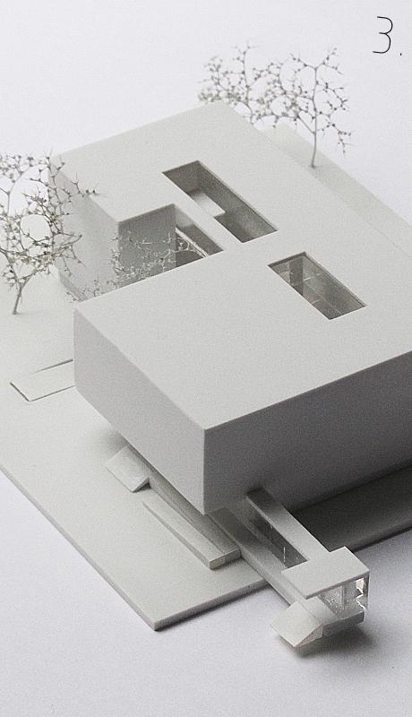 Studentenheim Wels Modell