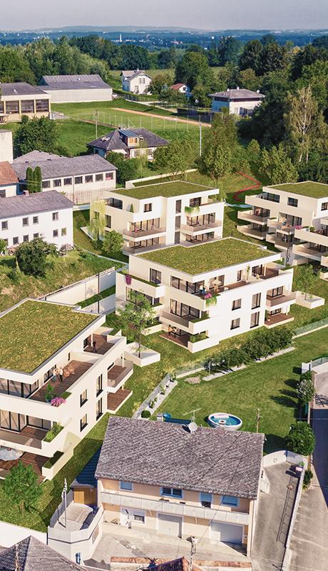 Wohnbebauung Obernberg am Inn